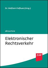 Elektronischer Rechtsverkehr - Coverabbildung