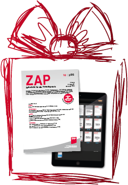 Probeabo ZAP - Wissen für die Anwaltspraxis